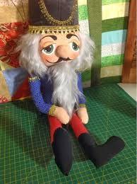 Resultado de imagen para muñecos de navidad cascanueces en fieltro