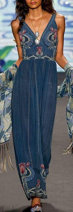Anna Sui S/S 2014