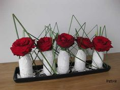 Bloemschikken met roosjes