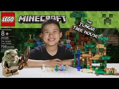 LEGO MINECRAFT - Set 21125 THE JUNGLE TREE HOUSE - Unboxing, Review, Time-Lapse…