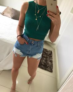 Mom Outfits, Cute Summer Outfits, Classy Outfits, Casual Outfits, Cute Outfits, Party Outfit Casual, Fashion Moda, Look Fashion, Fashion Outfits