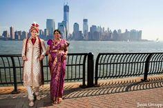indian wedding bride groom couples portrait http://maharaniweddings.com/gallery/photo/5549