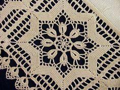 Crochet  Tablecloth + Diagram
