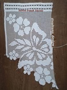 Doily Patterns, Baby Knitting Patterns, Crochet Curtains, Chrochet, Filet Crochet, Doilies, Needlework, Butterfly, Handmade