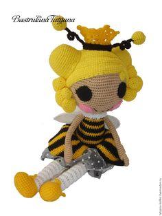 Купить Мастер класс куколка Лалалупси - Пчелка - комбинированный, мастер-класс, кукла, лалалупси, пряжа