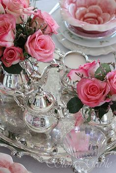 Silver and pink - Mors Dag