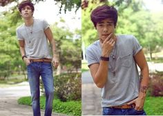 jeans and white t shirt tumblr - Google Search