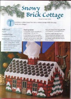 Snowy Brick Cottage - 1 of 3