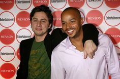 Donald Faison And Zach Braff Are The Ultimate Best Friends