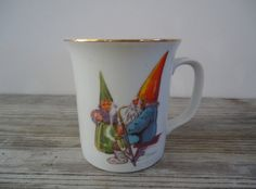 1982 Rien Poortvliet Collectible Mug Gnome Sweet Gnome  Trolls and wizards and fairy kings, Birds that talk and fish that sing. And if your