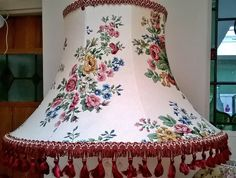Floral country vintage style standard lampshade in Home, Furniture & DIY, Lighting, Lampshades & Lightshades Vintage Country, Vintage Style, Vintage Fashion, Vintage Lampshades, Lamp Ideas, Lamp Shades, Characters, Lighting, Floral
