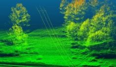 Lidar sensor images from UAV of power lines and forest canopy Drone Technology, Technology Articles, Drones, Dark Mass, Dark Energy, Remote Sensing, Aerial Photography, Arduino, Northern Lights