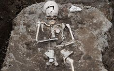 """""""Vampire Grave"""" in Bulgaria Holds a Skeleton With a Stake Through Its Heart 