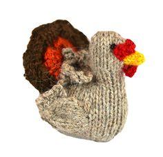 Alpaca Turkey Ornament - Peru