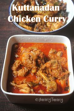 Kuttanadan Chicken Curry Recipe - Keralan Chicken Curry Recipe