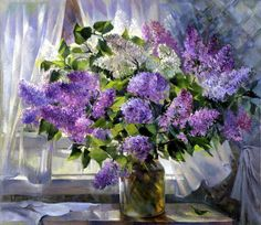 1410545_original[1] (700x605, 204Kb) Lilac Flowers, Colorful Flowers, Beautiful Flowers, Art Floral, Beautiful Drawings, Beautiful Paintings, Lilac Painting, Candy Art, Different Flowers