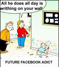 Facebook Humor | Future Facebook Addict | From Funny Technology - Google+