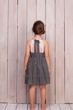 Gray girls dressgirls dressgirls lace dressgrey dresstoddler girls dresssundressprincess dressfancy dresscutout back dress Girls Lace Dress, Toddler Girl Dresses, Little Girl Dresses, Girls Dresses, Toddler Girls, Baby Dresses, Dress Girl, Little Girl Fashion, Fashion Kids