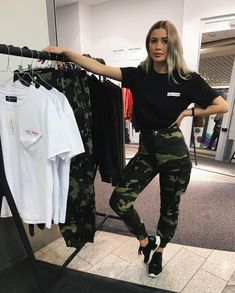 stephanie in her natural habitat Sporty Outfits, Outfits For Teens, Trendy Outfits, Girl Outfits, Cute Outfits, Fashion Outfits, Look Fashion, Urban Fashion, Daily Fashion