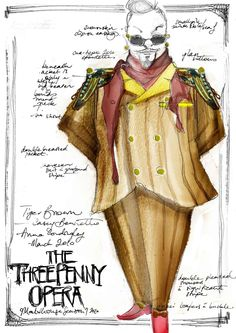 expressionist costume design - Google Search