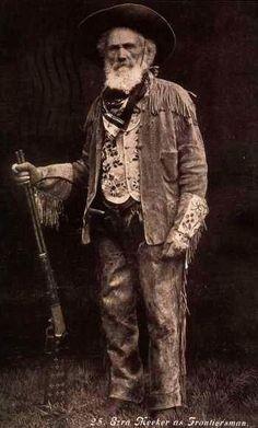 """""""Ezra Meeker (1830-1928) early pioneer who traveled the Oregon Trail by wagon as a young man. Beginning in his 70s, he worked tirelessly to memorialize the trail, repeatedly retracing the trip of his youth."""" #History"""