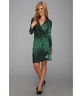 This instant BCBGMAXAZRIAPetite Adele Printed Wrap Dress FEX6Z027 OnSale Comparison