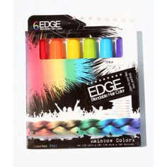 Rainbow Edge Stix Blendable Hair Color and Scented LAC Be. Christmas Gifts For Teen Girls, Birthday Gifts For Girls, Gifts For Teens, Birthday Stuff, Birthday List, Christmas Presents, Washable Hair Color, Root Cover Up, Edges Hair