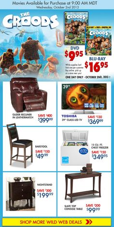 Get the Croods Plus More Wild Web Offers!