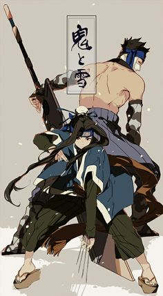 Haku and zabuza