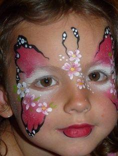 43624e080 76 mejores imágenes de maquillaje artistico para niñas | Halloween ...