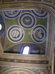 Cappella del cardinale di portogallo 07 tondi di luca della robbia e affreschi di alesso baldovinetti 01 - Category:Cappella del Cardinale del Portogallo - Wikimedia Commons