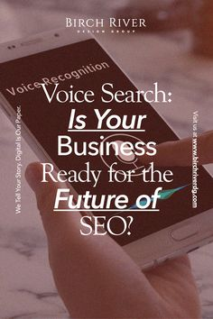 As a relatively new area of technology and search, it is crucial as a business owner to understand the techniques to make it work to your advantage. Prepare for this new way to search and future-proof your business with the following tips. #SEO #digitalmarketing #voicesearch Digital Story, Make It Work, Search Engine Optimization, Business Tips, Seo, The Voice, Digital Marketing, Technology, Future