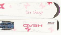 Head Lite Thang Pink Skis w/bindings
