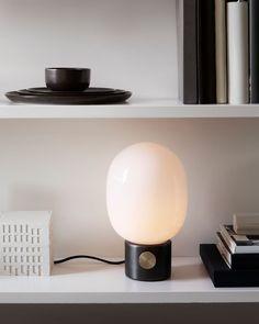 Menu Furniture, Lighting & Home Accessories – Design. Metal Table Lamps, Black Table Lamps, Concrete Lamp, Concrete Design, Contemporary Table Lamps, Modern Light Fixtures, Modern Lighting, Oil Lamps, Messing
