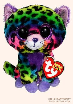 Trixie, Ty Beanie Boo Justice Stores exclusive leopard, reference information and photograph. Ty Stuffed Animals, Plush Animals, Ours Boyds, Rare Beanie Boos, Ty Teddies, Ty Babies, Beanie Babies, Ty Peluche, Ty Boos