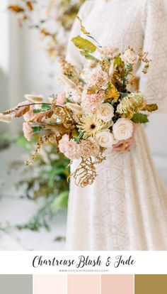 12 Stunning Color Palettes for a Spring Wedding - Chic Vintage Brides : Chic Vintage Brides wedding rustic 12 Stunning Color Palettes for a Spring Wedding - Chic Vintage Brides Chic Wedding, Floral Wedding, Wedding Bouquets, Rustic Wedding, Wedding Flowers, Neutral Wedding Colors, Spring Wedding Colors, Wedding Color Schemes, Spring Color Palette