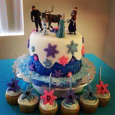 Disney Frozen Birthday Cake- loving this one too