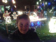 Enjoying the local Christmas lights #CKCrackingChristmas