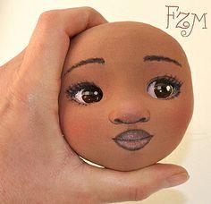 Cara de muñeca en progreso | Flickr - Photo Sharing!