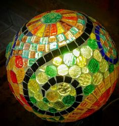 Beautiful mosaic ball