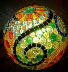 Beautiful mosaic ball