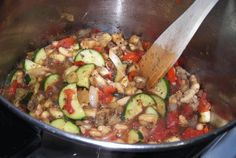 Ratatouille:  103.6 calories, 1.1 g fat, WW Old Points: 2, Points+: 3 per 1-1/4 cup serving