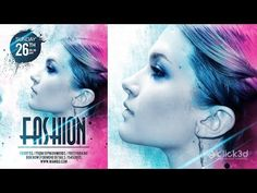 In this Photoshop Tutorial we will learn how to Design Fashion Flyer or you can say Fashion Poster step by step. while working on this design we will use lay. Photoshop Design, Photoshop Tutorial, Photo Manipulation Tutorial, Photoshop Brushes, Adobe Photoshop, Flyer Design, Fashion Design, Gd, Poster