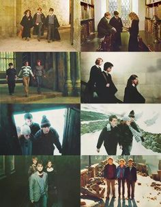 The Golden Trio throughout the years