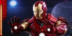 Iron Man – 1/4th Scale Mark III Collectible Figure Coming Soon     DisKingdom.com   Disney   Marvel   Star Wars - Merchandise News Iron Man, Star Wars Merchandise, Disney Marvel, Deadpool, Scale, Superhero, Fictional Characters, Collection, News