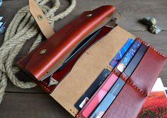 Woman's wallet | original | leather| hand-made | #aquila_armani
