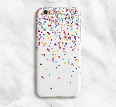 View all of LovelyCaseCo's cases here: LovelyCaseCo.Etsy.com  ///Confetti iPhone Case Put some fun into your everyday routine with a LovelyCaseCo