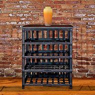 Venezia - wrought iron wine rack - perfect for a dining room or small corner!