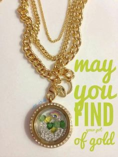 St Patrick's Day Origami Owl!  Get your Irish on! Just click on the pic to order!