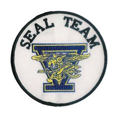 Navy Seal Team 5 patch